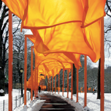 The Gates NYC by Christo and Jeanne Claude - beauty and delight shared for absolutely no reason at all